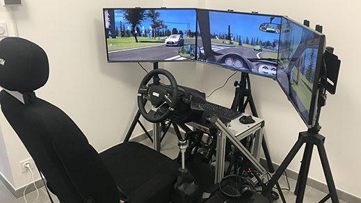 prévention risque routier sur simulateur